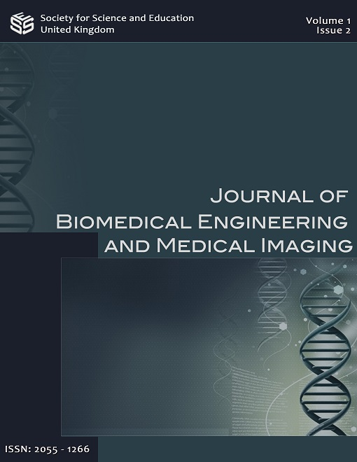View Vol. 1 No. 2 (2014): Journal of Biomedical Engineering and Medical Imaging