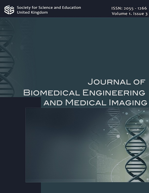 View Vol. 1 No. 3 (2014): Journal of Biomedical Engineering and Medical Imaging