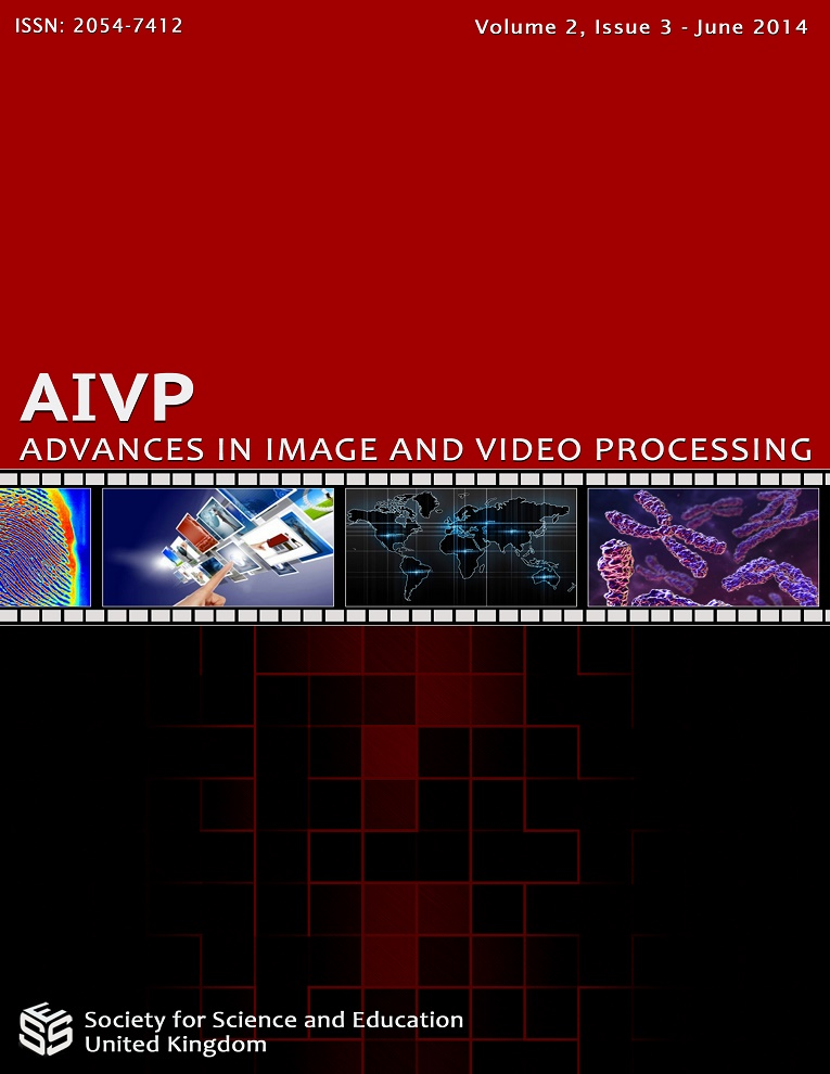 View Vol. 2 No. 4 (2014): Advances in Image and Video Processing