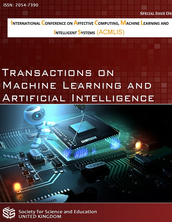 View Vol. 5 No. 4 (2017): Transactions on Machine Learning and Artificial Intelligence