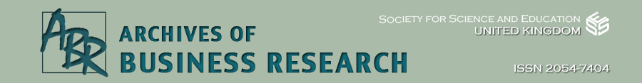 Archives of Business Research
